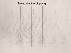 Moving With Your Line of Gravity