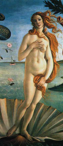 Birth of Venus.
