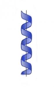 spiral around